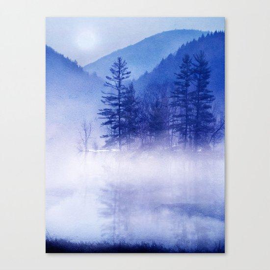 mystic sunrise II Canvas Print