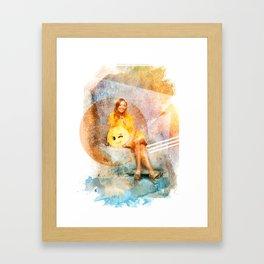 BB20 Kaitlyn Framed Art Print