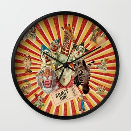 Life Is A Circus Wall Clock