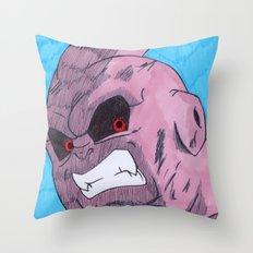 Super Buu Throw Pillow