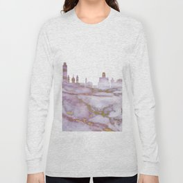 Albany City Skyline Long Sleeve T-shirt