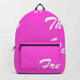 Fresher Than You. Backpack