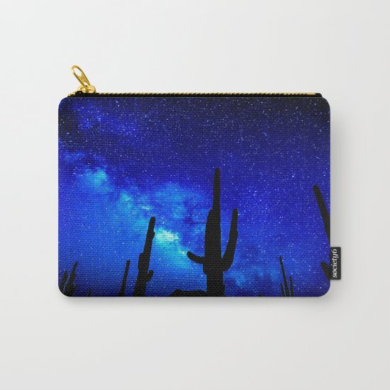 The Milky Way Blue Carry-All Pouch