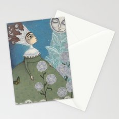 Soon, soon, Winter Moon! Stationery Cards
