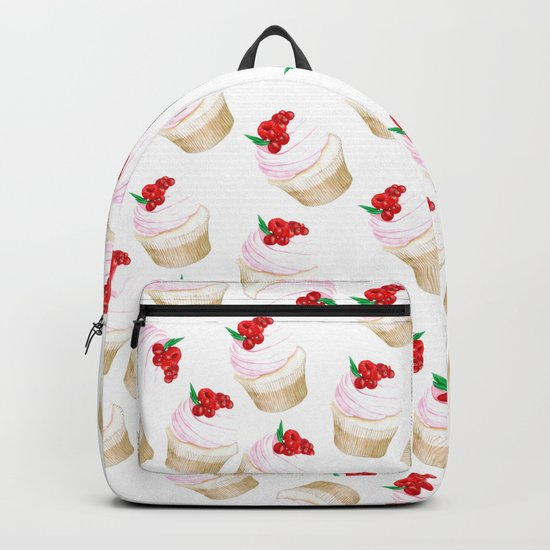 Classic Cupcakes pattern Backpack
