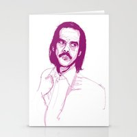 nick cave Stationery Cards featuring Nick Cave by 1and9