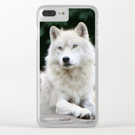 Leader of the pack Clear iPhone Case