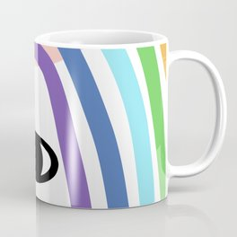 Rainbow of my eye Coffee Mug