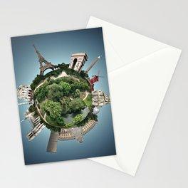 Planet Paris Stationery Cards