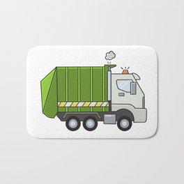 GarbageTruck Bath Mat
