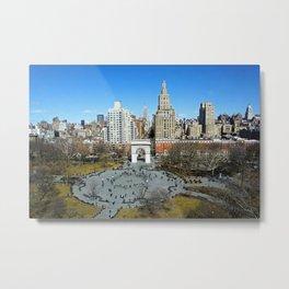 Washington Square Park, NYC Metal Print
