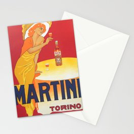 Martini Torino By Marcello Dudovich - Italian Advertising Stationery Cards