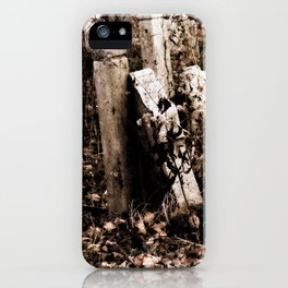 Overgrown Graves iPhone Case