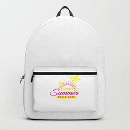 Summer Never Ends yp Backpack