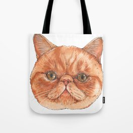 Betty aka The Snappy Cat- artist Ellie Hoult Tote Bag