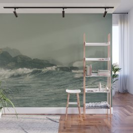 Into the Waves IX Wall Mural