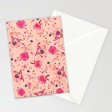 Vintage Flowers XLI Stationery Cards