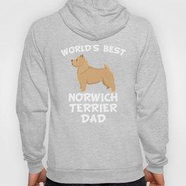 World's Best Norwich Terrier Dad Hoody