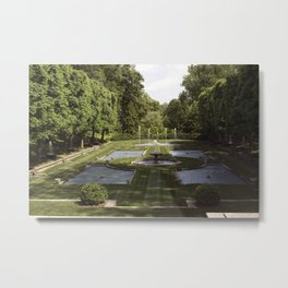 Longwood Gardens - Spring Series 215 Metal Print