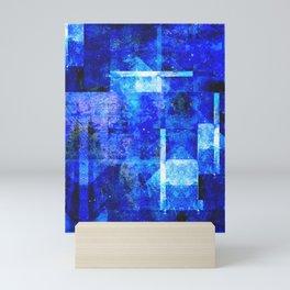 Sapphire Nebulæ Mini Art Print