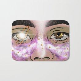 Nebula Eyes Bath Mat