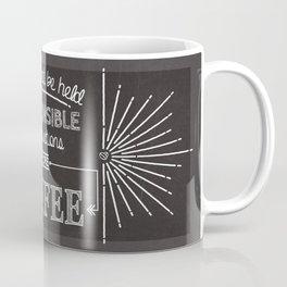 Coffee Responsibly // Horizontal Coffee Mug