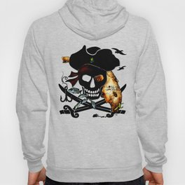 Fishing with a Florida Pirate Hoody