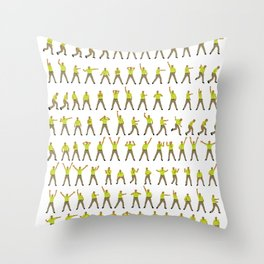 Double Your Dream Hands Throw Pillow