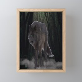 Fenris Wolf Framed Mini Art Print
