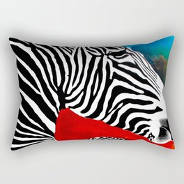 Zebra Rectangular Pillow