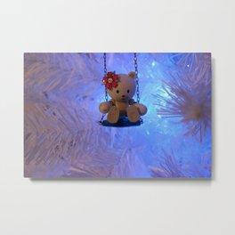 Beargguy Christmas. Metal Print