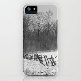 HOPKINS FOREST iPhone Case