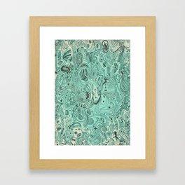 Histological section of my inner world (#4) Framed Art Print
