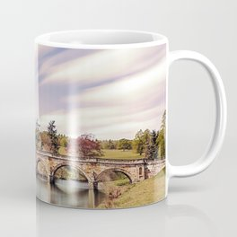 Paine`s Bridge, Chatsworth, Derbyshire, UK. Coffee Mug