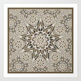 Nouveu Deco Star Art Print