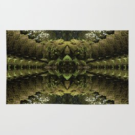 Tripping through the Woods Rug