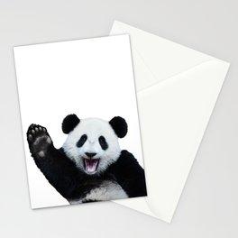Panda Art Print Stationery Cards