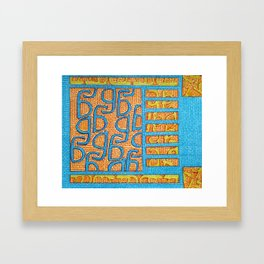 Jard- God of late nights Framed Art Print