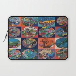 Bolitas de colores Laptop Sleeve