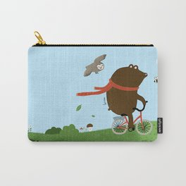 The Bear goes to the City Carry-All Pouch