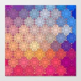 Indian pattern Canvas Print