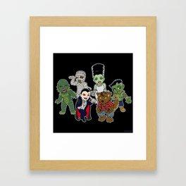 Universal Monsters Framed Art Print