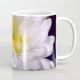 """Cactus Flower And Friend #1"" Photograph Coffee Mug"