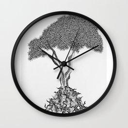 Maple Tree Wall Clock