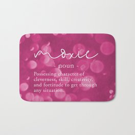 Moxie Definition - Pink Bokeh Bath Mat