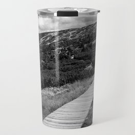 Black and White Tundra Travel Mug