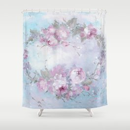 Crown Rose Shower Curtain
