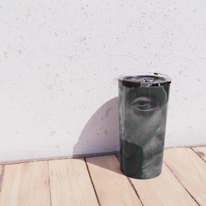 Marcus Aurelius Broken Statue Travel Mug