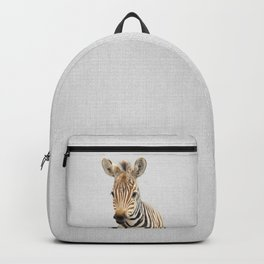Baby Zebra - Colorful Backpack