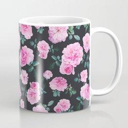 Pink Roses Flower pattern Coffee Mug